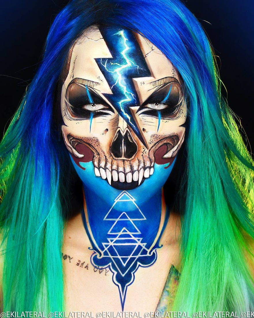 11-Skull-High-Voltage-Kelly-Nantes-Glamour-and-Scary-Mua-Makeup-Transformations-www-designstack-co