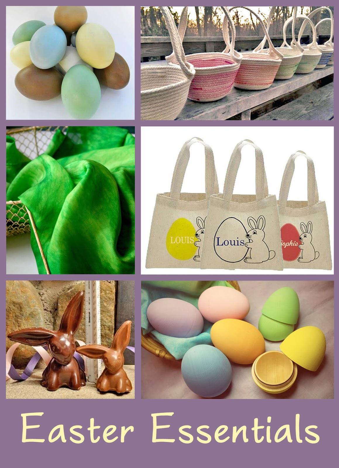 Handmade Easter Baskets Ideas : The mindful home handmade easter basket gift ideas