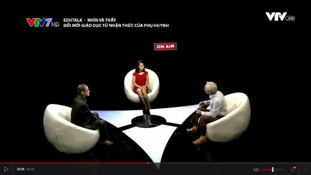 Bàn tròn về đổi mới giáo dục từ nhận thức của phụ huynh. Edu Talk ngày 17/7, VTV7.