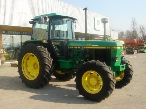 Attrezzature agricole usate trattore agricolo john deere 3350 for Cerco john deere usato