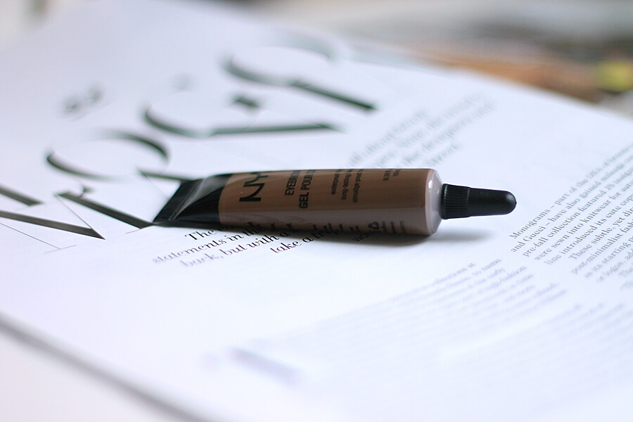 nyx eyebrow gel brunette review recenzija