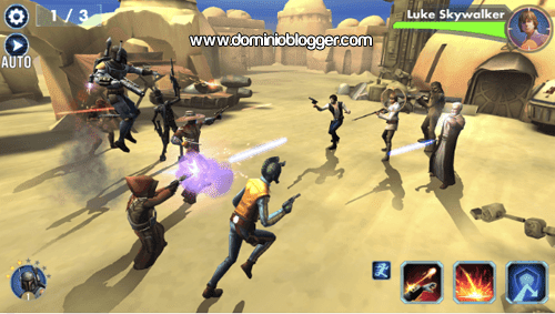 Star Wars Galaxy of Heroes para Android