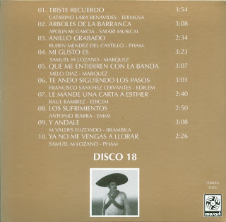 Antonio Aguilar - Mi Historia Disco 18