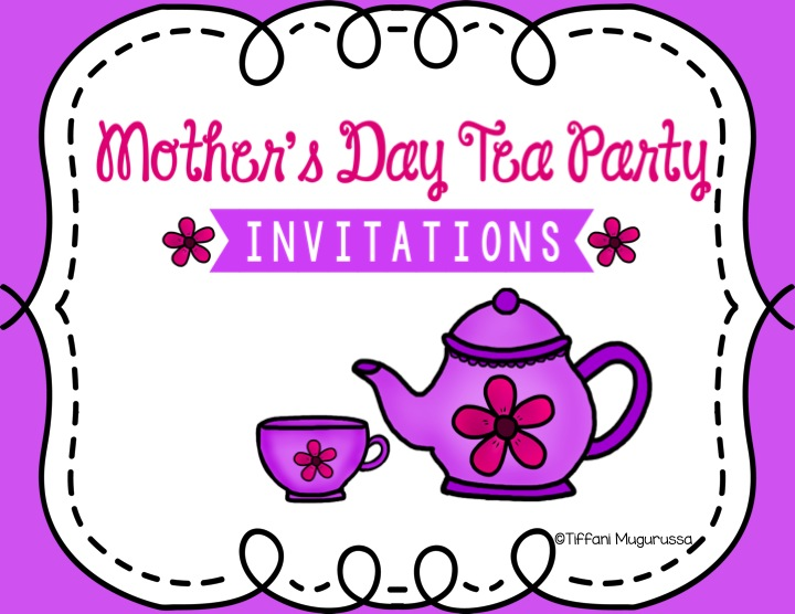 Time 4 Kindergarten How To Throw A Mother S Day Tea On A Budget
