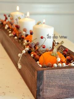 Dekoracja na świąteczny stół