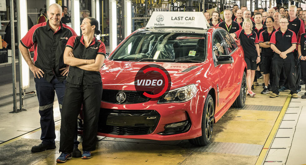 Holden Builds Its Final Model In Australia, Marks The End Of 69 Years Of Production