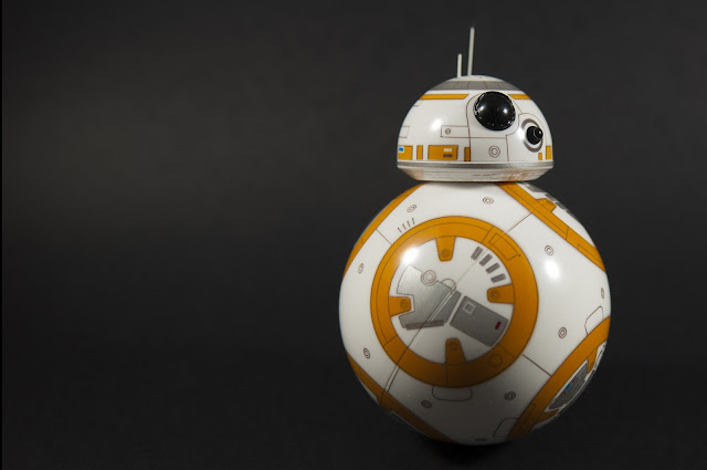 Figura 2 : BB-8, el droide de Star Wars: The Force Awakens.
