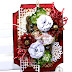 Holiday Merry Wishes Christmas Tag by Ginny Nemchak