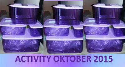 Promo Tupperware Activity Edisi Oktober 2015