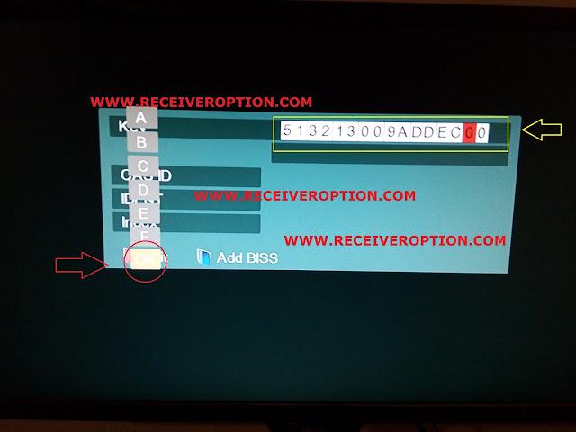 SUPER MAX SM 3000 HD 3G RECEIVER BISS KEY OPTION