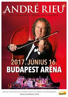 André Rieu plakát