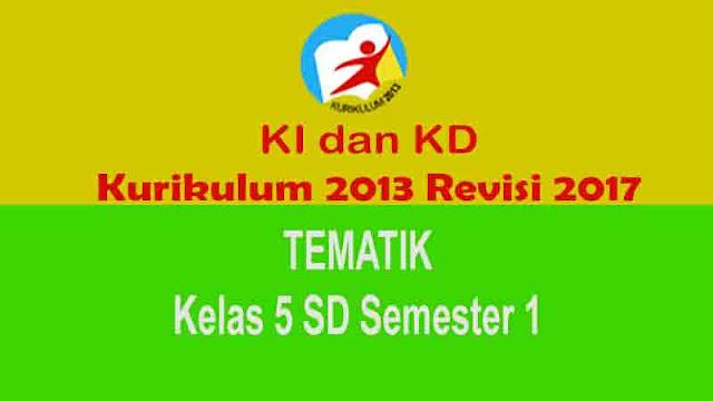 Kurikulum 2013 Kelas 5 SD