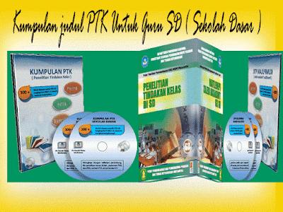 Contoh Judul PTK Guru Untuk Guru SD/MI SMP/MTs SMA/MA SMK dan Sederajat