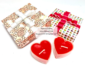 Valentine Gift Box Using Share What You Love & SAB Foil Sheets Nigezza Creates Stampin Up