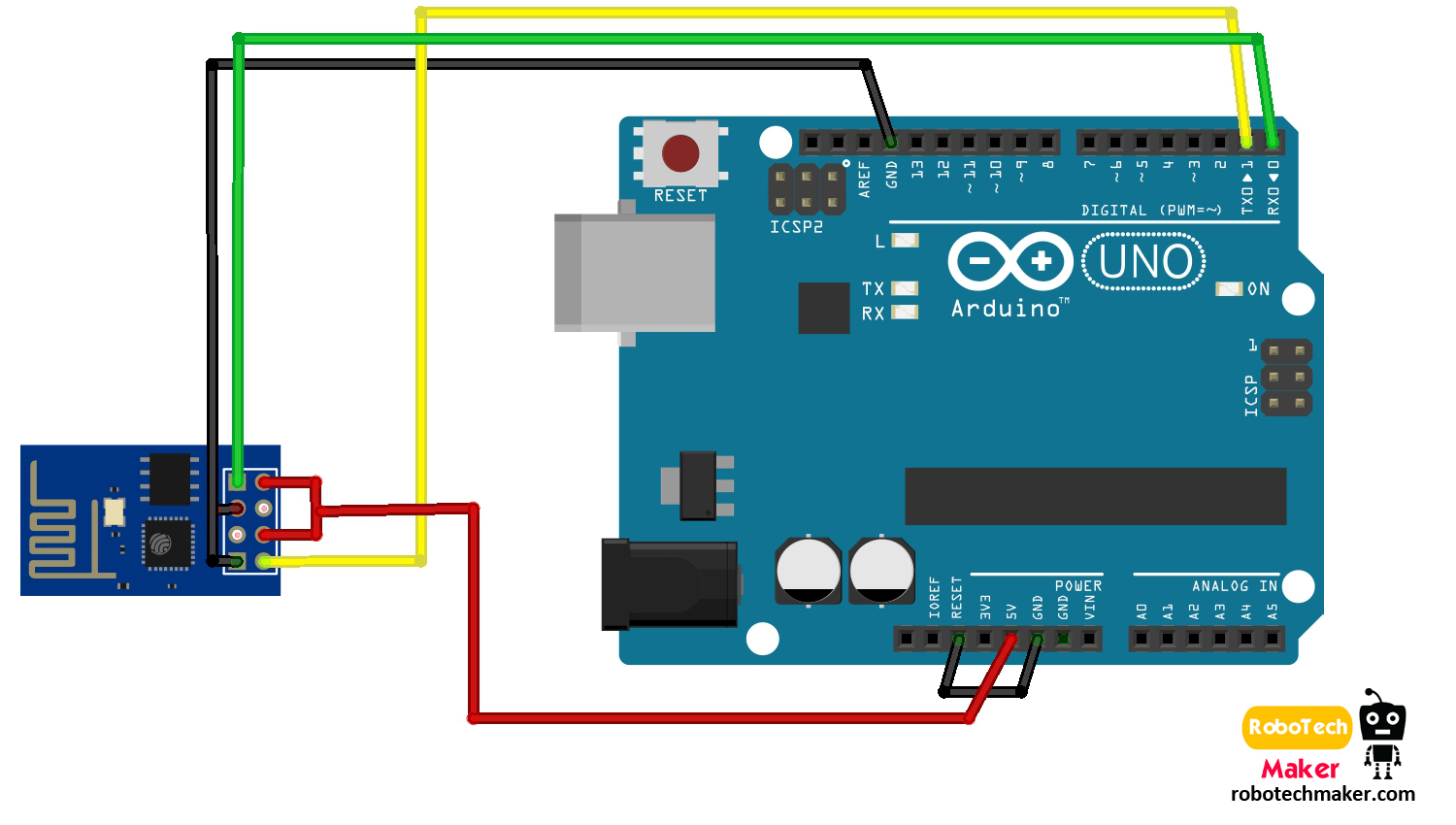 Arduino Diagram Creator Due Wire Diagrams Block Robotech Maker How To Program Esp8266 01 Visit Here See