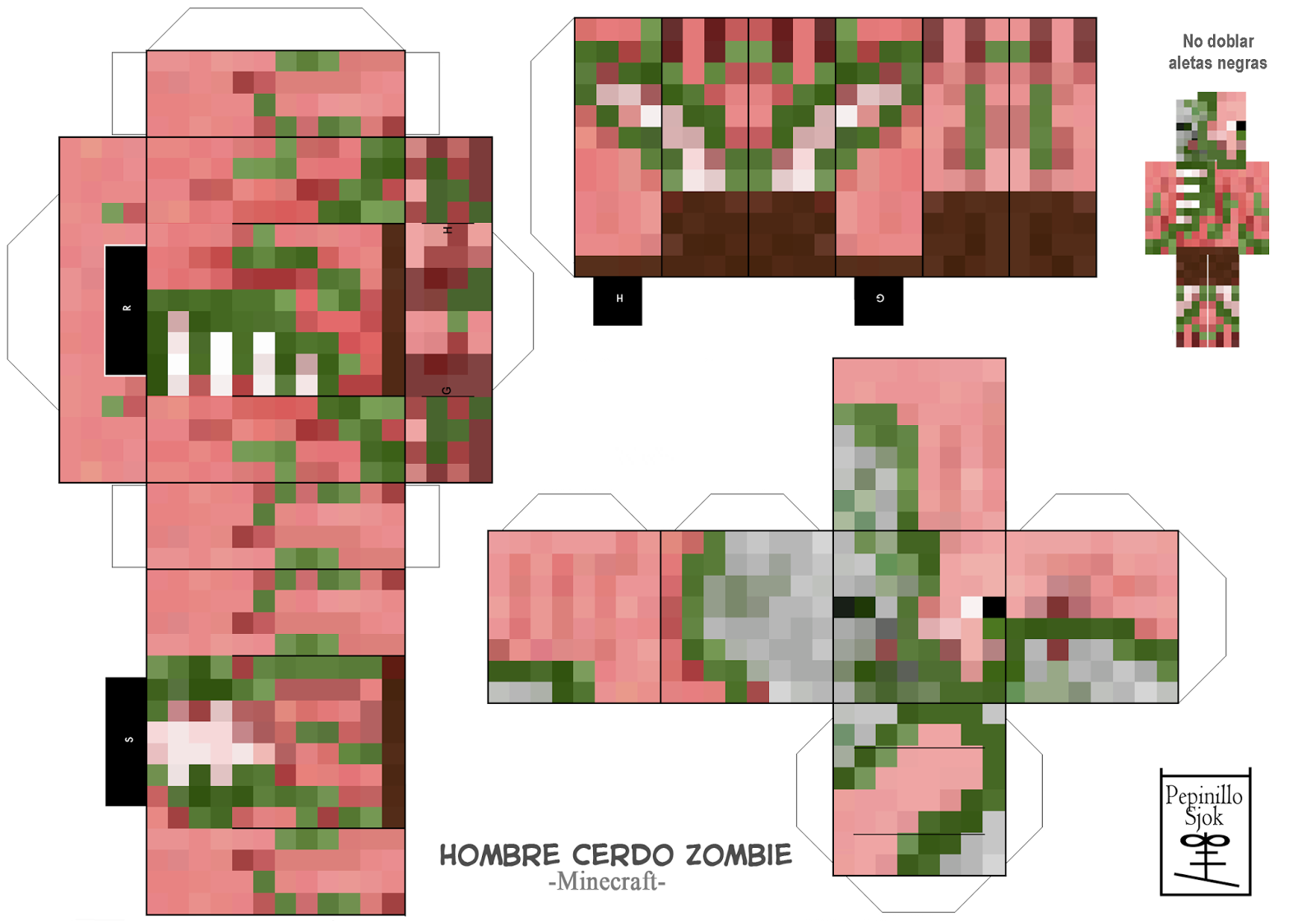 Cube Minecraft A Imprimer Colorier Les Enfants