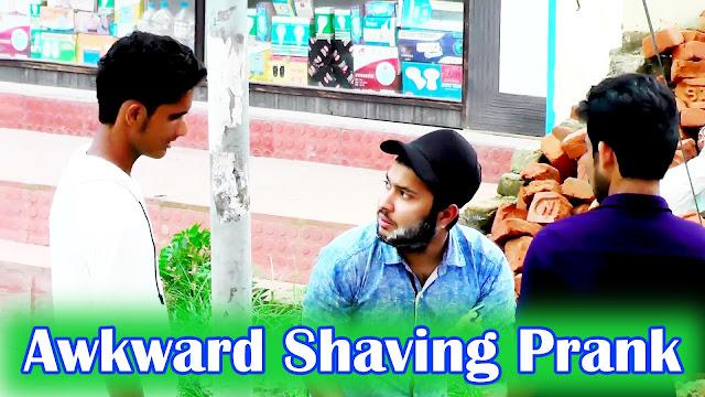 Nepali Prank - Awkward Shaving In Public