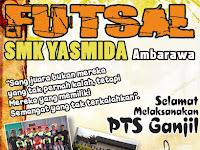 Design Ucapan Selamat Ujian Oleh Eskul Futsal SMK Yasmida