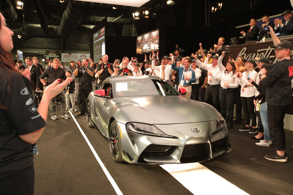 First production 2020 Toyota GR Supra goes for $2.1 million