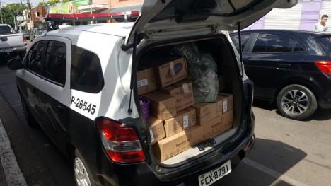 Operação prende comerciante suspeito de receptação de carga de esmaltes roubada em Aguaí(SP)