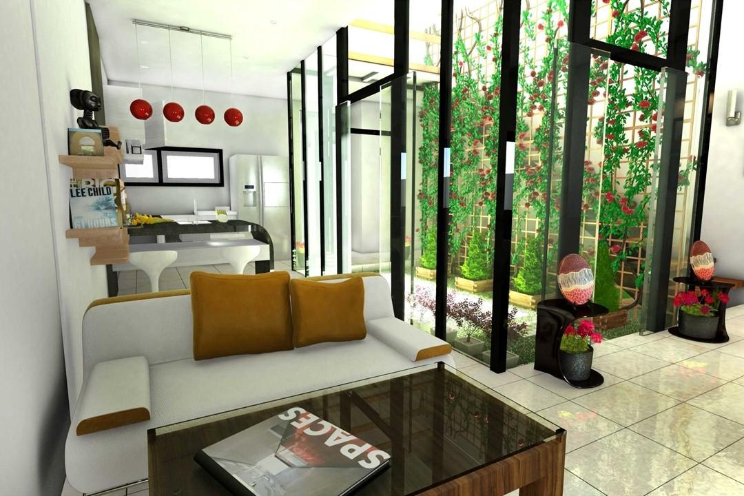 desain interior ruang tamu 5