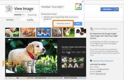 mengembalikan tombol view images pada google 2