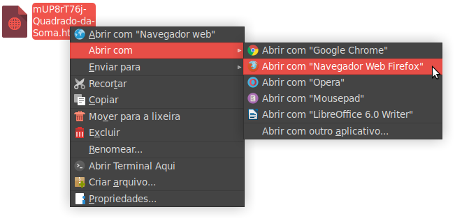 Abrir HTML