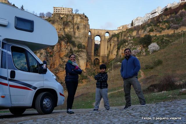 Motorhome na Espanha