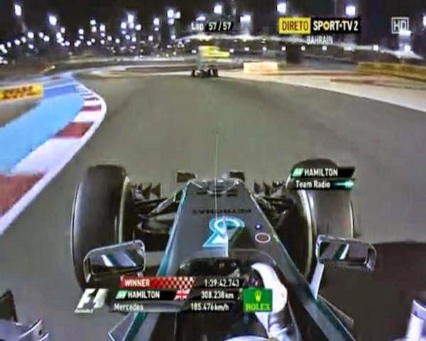 F1 - Lewis Hamilton Menang Di Bahrain GP 2014