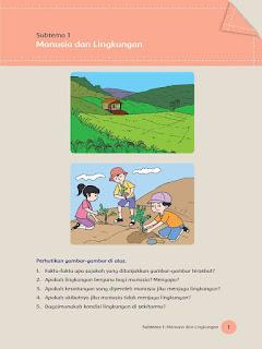 kunci jawaban kelas 5 tema 8 subtema 1 pembelajaran 1 hal 1