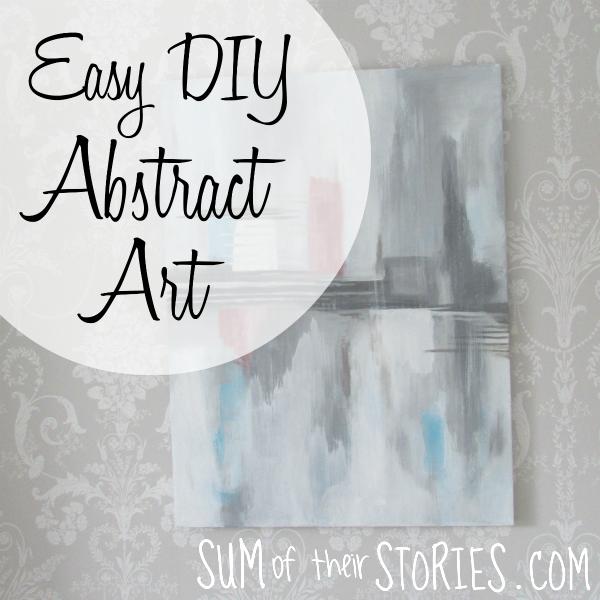 Easy DIY canvas art