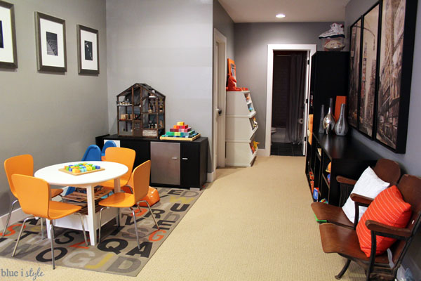 Tips for shared family room and playroom