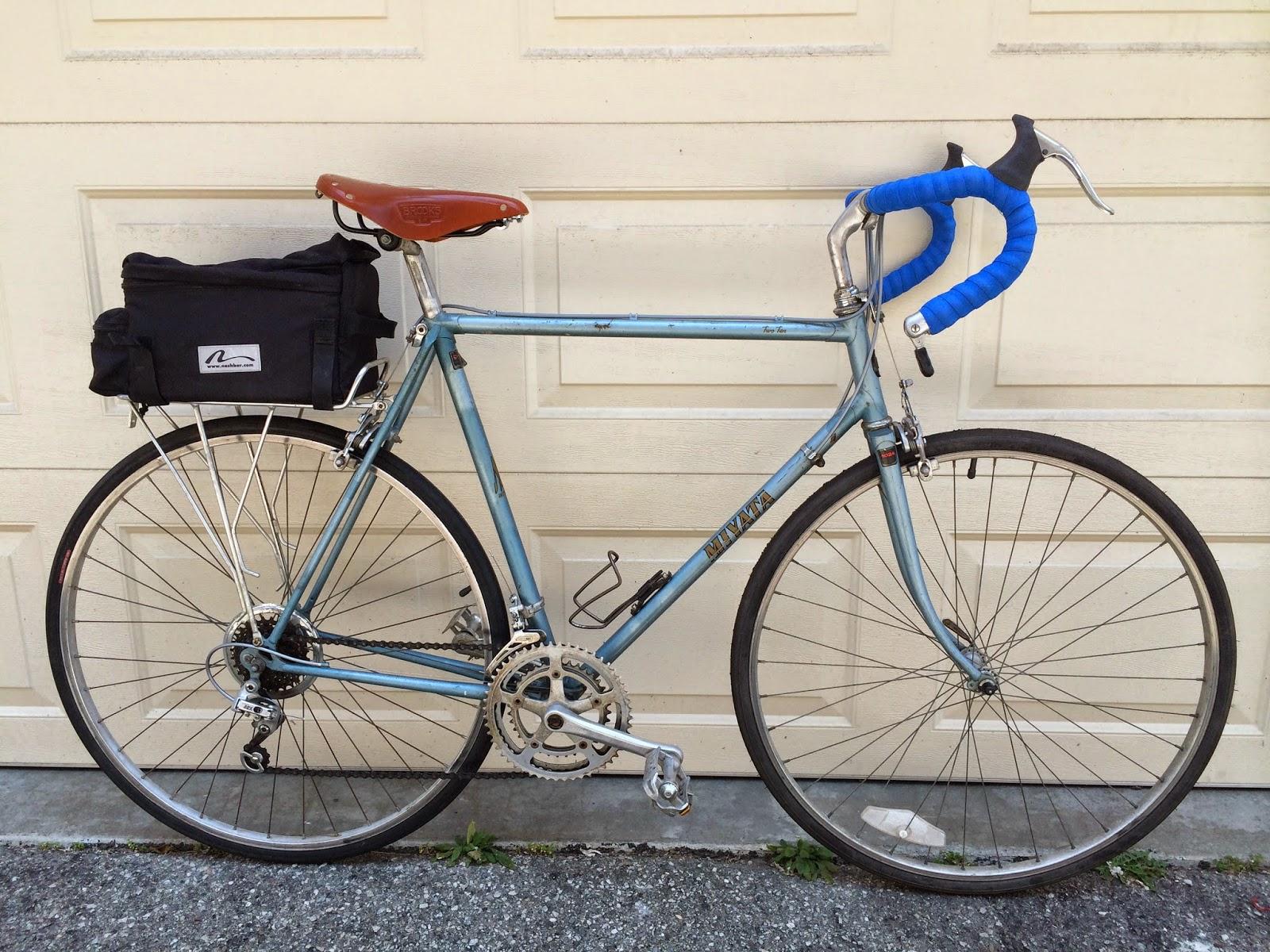 Lugs & Bugs: 1983 Miyata 210 Touring Bicycle
