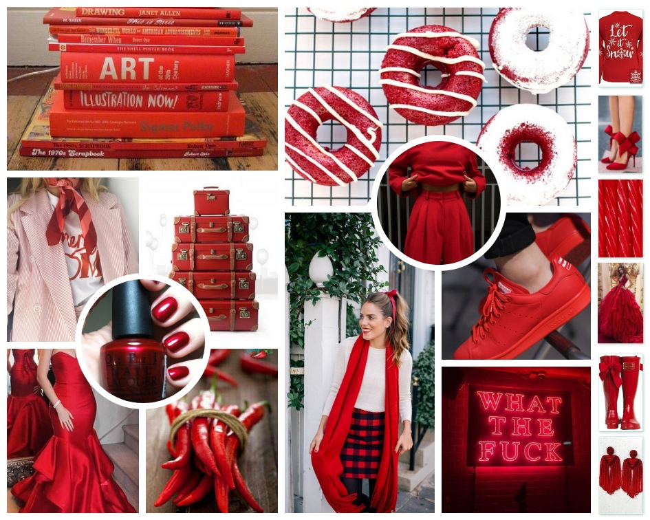 December 2018 Mood Board:  Holiday Red, The Low Country Socialite, Savannah Blogger