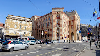 Prominent building in Sarajevo