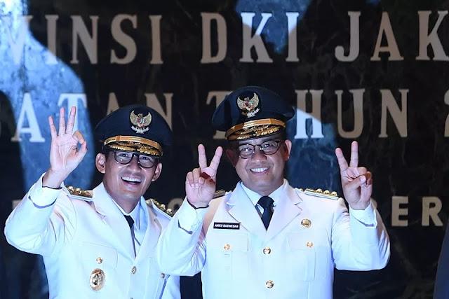 100 Hari Anies-Sandi Pimpin Jakarta Nyaris Sempurna