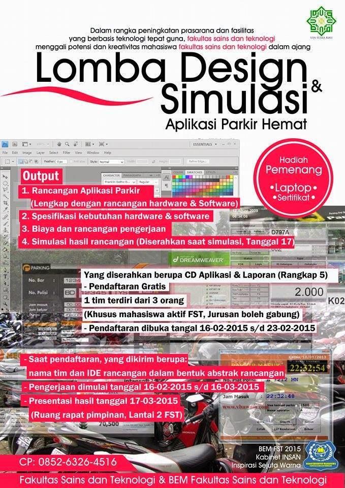 Lomba Design & Simulasi Aplikasi Parkir Hemat