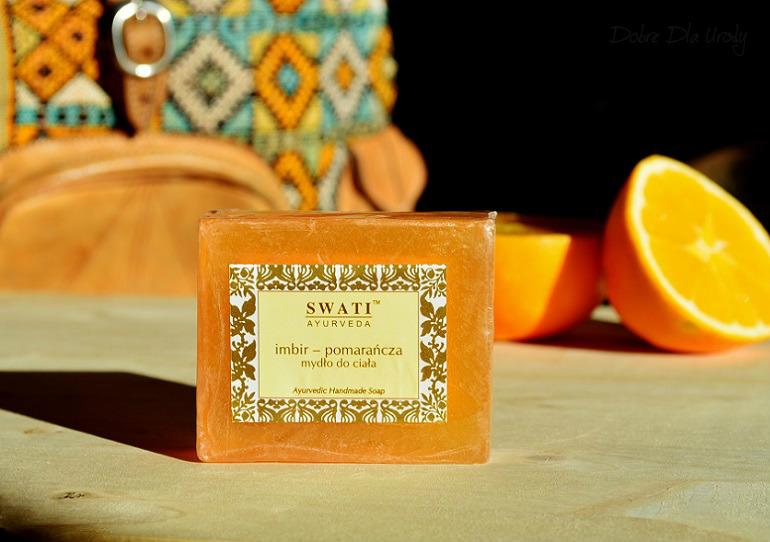 Swati Ayurveda Mydło handemade imbir - pomarańcza