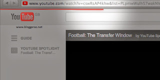 Hướng dẫn Tạo Loading Bar giống Youtube cho Blogger
