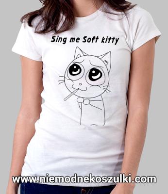 koszulka Soft Kitty teoria wielkiego podrywu