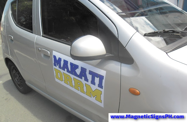 Car Door Magnet - Makati DRRM