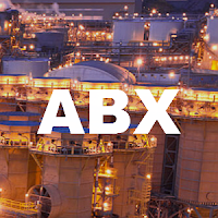 Canada blue chip stock : TSX:ABX Barrick Gold stock price chart