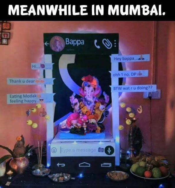 MUMBAI GANESH DECORATION