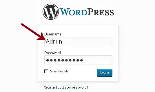 How To Replace The Default Admin Username On Wordpress For More Sure