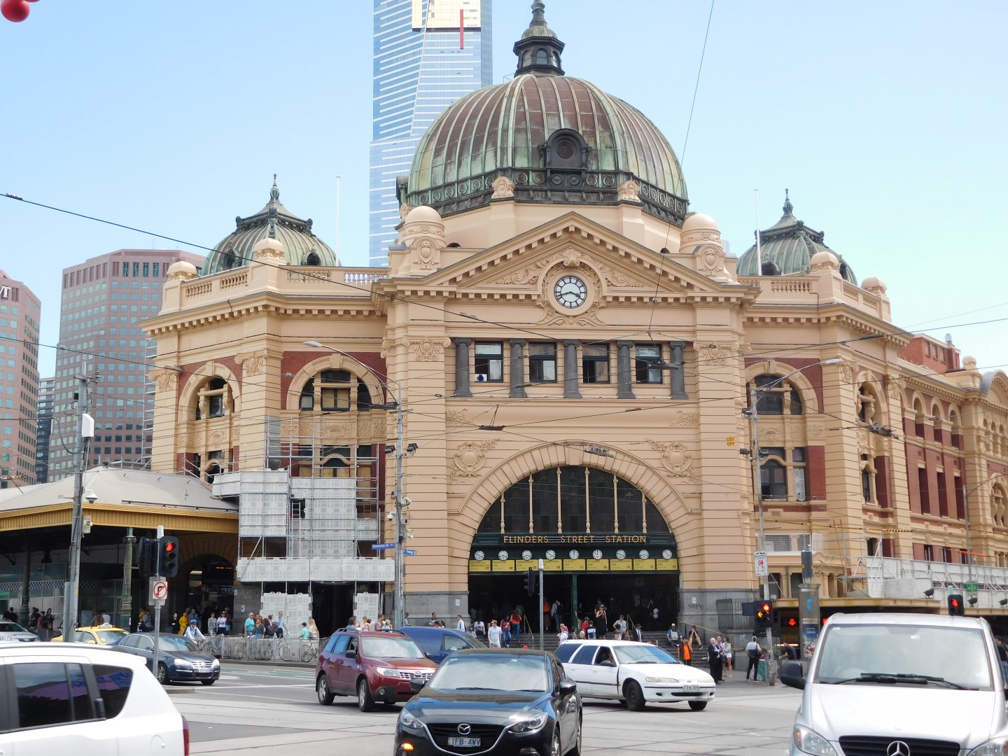 high riser flinders street station. Black Bedroom Furniture Sets. Home Design Ideas