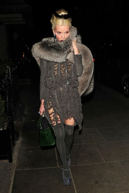 Baby It S Cold Outside Shift Dress: FASHION ON ROCK: Baby Its Cold Outside* FUR
