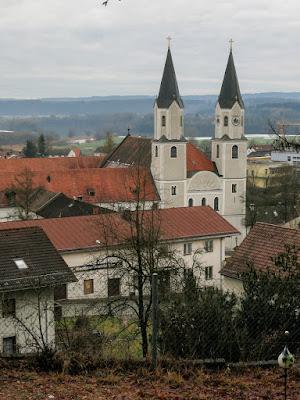 Kloster Gars am Inn - 2016 - vom Hang über dem Kloster aus fotografiert