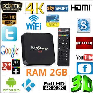 box tv mxq pro 4k