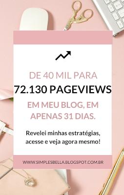 Relatório de tráfego do blog - Mês de Janeiro