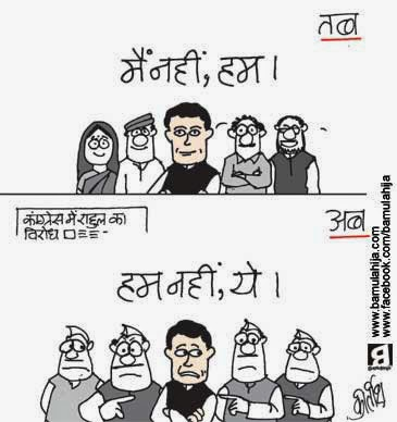 rahul gandhi cartoon, congress cartoon, election 2014 cartoons, cartoons on politics, indian political cartoon